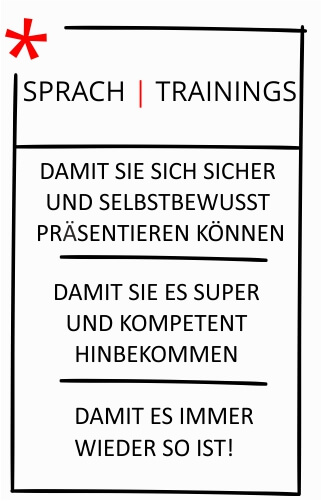 Sprach Trainings