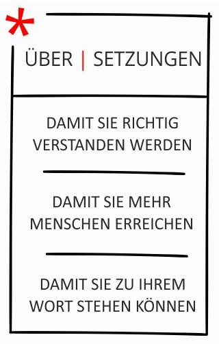 Marketing Übersetzungen